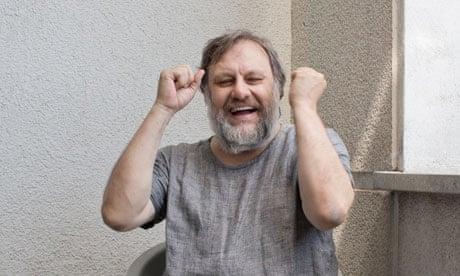 Славой Жижек в своей люблянской квартире. Фотограф Дэвид Левен специально для the Guardian